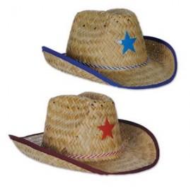 c8aa73fcda608 Branded Child Cowboy Hat w  Plastic Star   Chin Strap