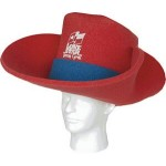 Foam Cowboy Hat - 30 Gallon Custom Imprinted