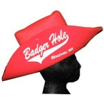 "Foam Cowboy Hat (18"") Custom Imprinted"