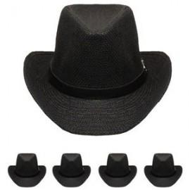 50cbdb7bae17f Black Western Cowboy Hat Branded