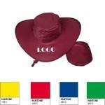 Custom Imprinted Foldable Nylon Cowboy Hat