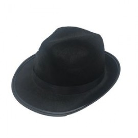 Branded Black Ball/ Party Daily Hat