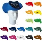 Logo Printed Pop-Up Visor - Small Cowboy Hat