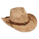 Branded Sun 'N' Sand Western w/Antique Studs Hat