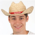 Custom Imprinted Straw Western Hat with Imprinted Band