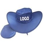 Foldable Cowboy Hat W/Pouch Logo Printed