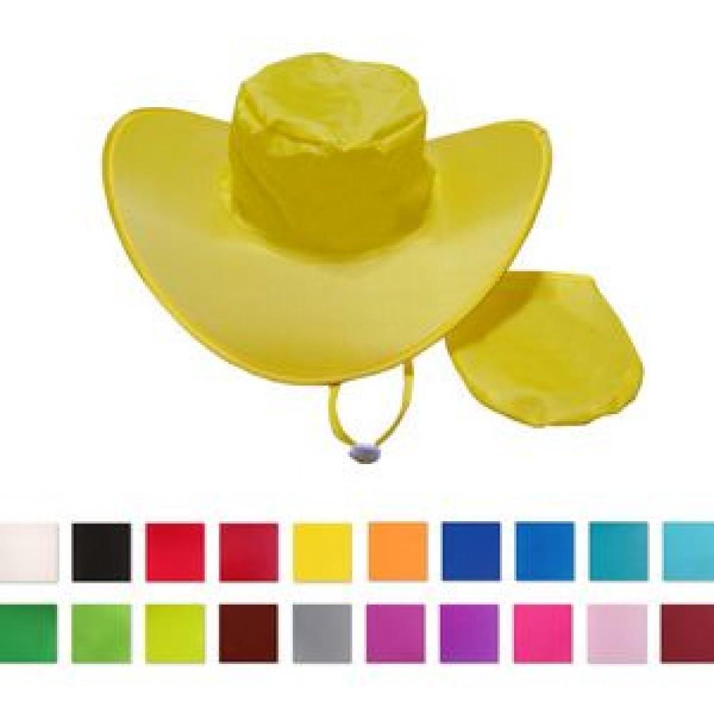 Logo Printed Foldable Hat