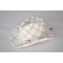 Branded Straw Lady Hat