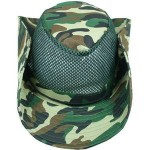 Camouflage Mesh Cowboy Hat Custom Imprinted