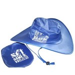 Polyester Foldable Cap Branded