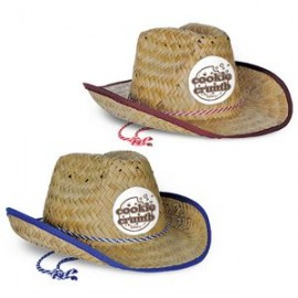 483cdd80e693e Branded Child Size Cowboy Hat w  Shoelace Band w  Custom Shaped Faux Leather  Icon
