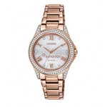Custom Imprinted Citizen Eco-Drive Women's Rose Gold-Tone Bracelet Watch from Pedre