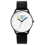Pedre Zone Unisex Watch (Black Strap) Logo Printed