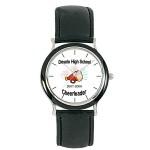 Custom Imprinted Budget Collection Watch w/Black Bezel