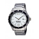 Selco Geneve Canvas Men's Silver Watch Branded