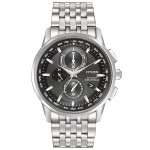 Citizen Men's World Chronograph Silver-Toned Bracelet Watch from Pedre Custom Imprinted