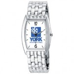 Men's Watch With Rectangle Face Logo Printed
