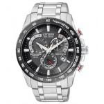 Custom Imprinted Citizen Men's Eco Drive Atomic Chronograph Bracelet Watch from Pedre