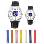 Branded His or Hers Leather Band Watch