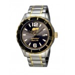 Branded Selco Geneve Canvas 2 Tone Men's Watch