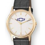 Selco Geneve Legacy Men's Watch w/ Leather Strap Custom Imprinted