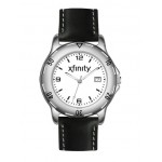 Logo Printed Pedre Men's Paragon Watch with Black Padded Strap