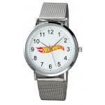 Men's Silver Mesh Plexus Watch Custom Imprinted