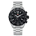 Branded Tag Heuer Formula 1 Men's Chronograph Stainless Steel Bracelet Watch from Pedre