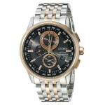 Branded Citizen Men's World Chronograph Two-Toned Bracelet Watch from Pedre