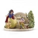 Lenox Disney Collectibles Snow White's Charming Garden Fountain Custom Printed