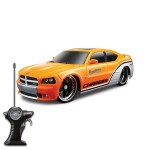 "1/24 Scale 7"" Remote Control Car 2006 Dodge Charger SRT8- Full Color Logo Custom Imprinted"