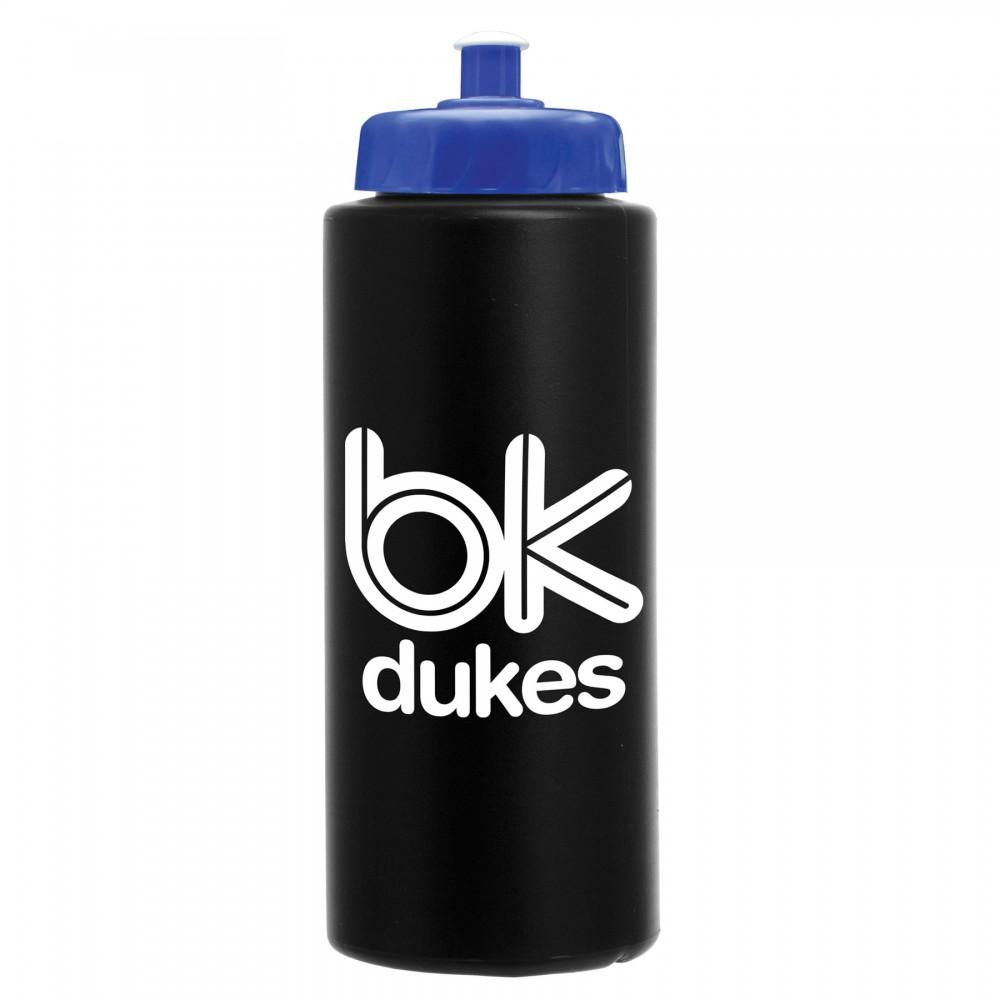 32 Oz. Sport Bottle w/ Push Pull Lid Logo Printed