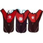 Custom Imprinted Red Hydration Pack