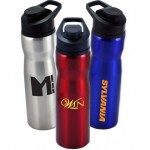 Logo Printed 28 oz. Metal Sports Bottle