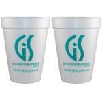 14 Oz. Foam Cup Custom Imprinted