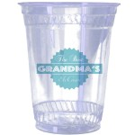 Custom Imprinted 32oz. Eco-Friendly Clear Cups - High Lines