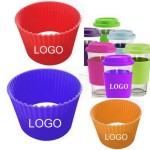 Logo Printed Silicone Coffee Cup Sleeve