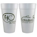 Logo Printed 20 Oz. Foam Cup