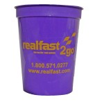 16 Oz. Smooth Colored Cup (Grande Line) Logo Printed