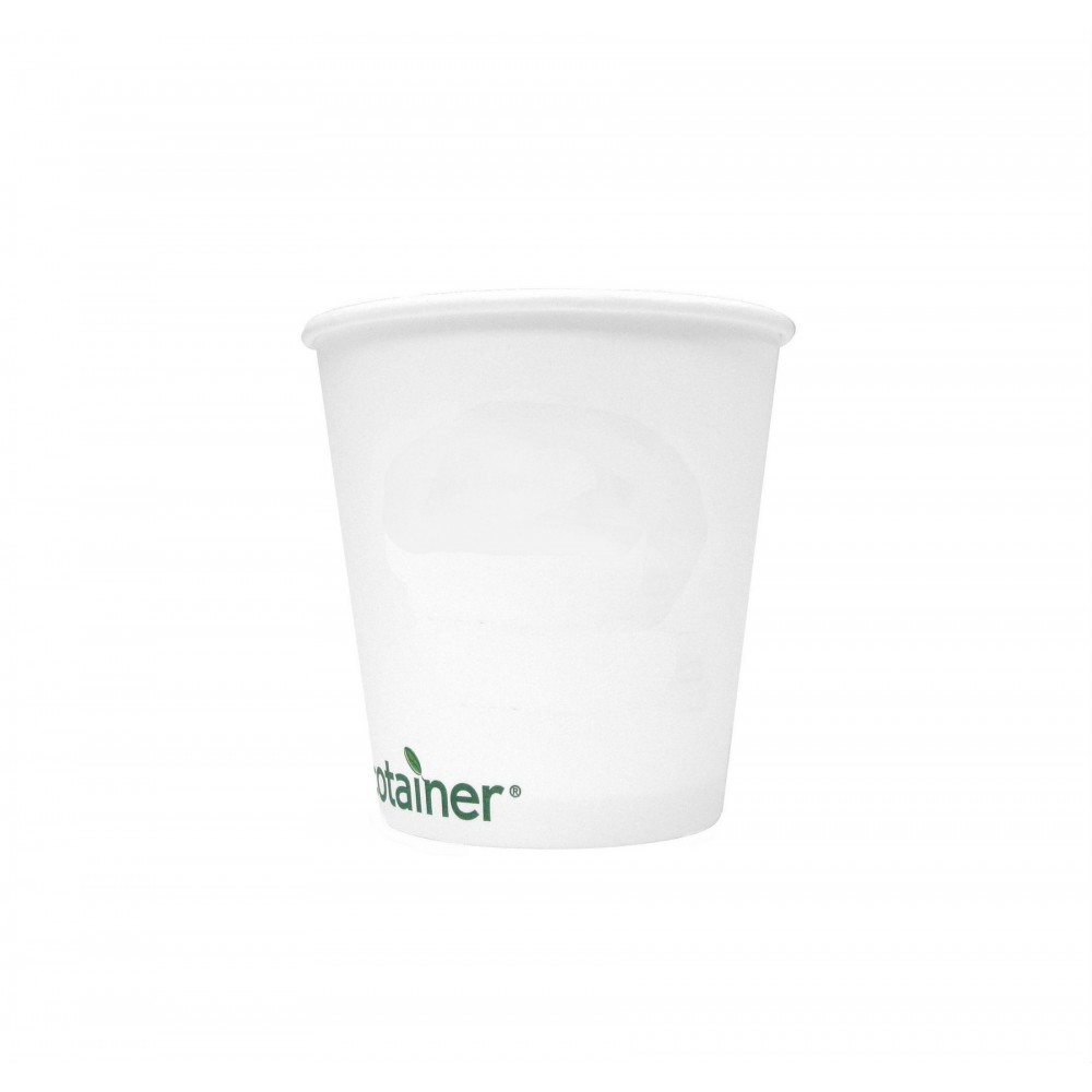 10 Oz. Compostable Paper Cup (Blank) Logo Printed