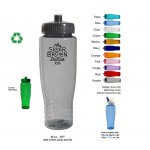 Custom Branded 28 oz. Eco Polyclear Sports bottle