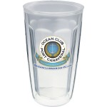 Logo Printed 16 Oz. Double Wall Insulated Thermal Tumbler - Custom Decal