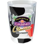 14 Oz. Double Wall Thermal Tumbler - Clear Printed Insert Custom Imprinted
