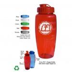 Gripper Polyclear 30 oz. Eco Sports Bottle Logo Printed