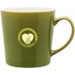 16oz Mona Mug (Olive Green) Custom Printed