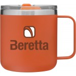 12oz Camper Mug (Matte Orange) Custom Imprinted