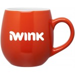 Logo Printed 16oz Rotondo Mug (Orange)
