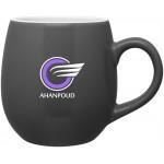 Custom Branded 16oz Rotondo Mug (Storm Gray)