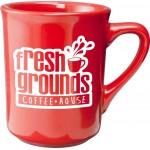 Custom Imprinted 8.5 oz. Red Toledo Mug