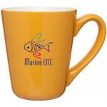 Custom Branded 16oz Vito Mug (Yellow)